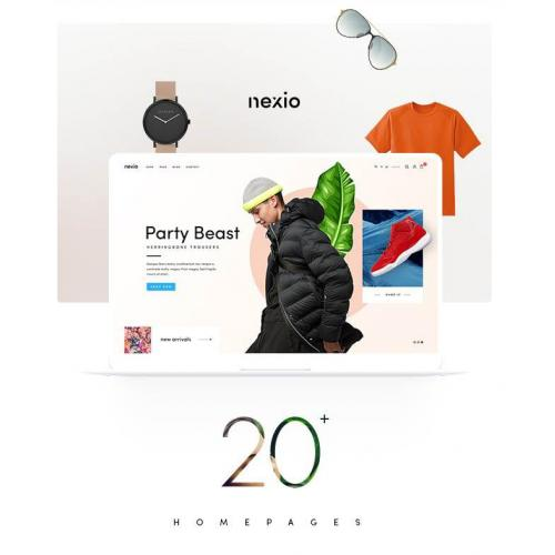 [wordpress模版] WordPress主题Nexio_时尚服装WooCommerce商店主题破解版