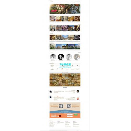 高端装修三维空间设计类网站织梦模板下载